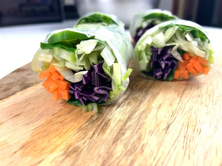Salad Rolls & DippingSauce